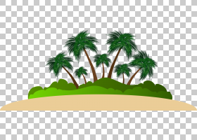 卡通棕榈树,草,线路,徽标,绿色,生产,棕榈树,木本植物,树,槟榔,面