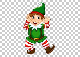 圣诞精灵剪贴画,假日,圣诞树,食物,圣诞老人驯鹿,圣诞装饰,礼物,图片