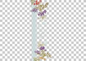 花边背景,花卉,植物群,插花,花束,分支,模式,边界,字体,设计,薰衣