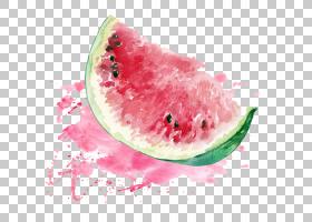 西瓜背景,食物,西瓜,颜色,甜瓜,Auglis,水果,绘画,水彩画,西瓜,
