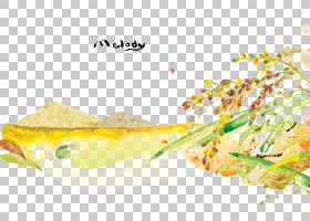 水彩卡通,食谱,装饰,菜肴,食物,卡通,景观,福井,绘画,山水画,水彩