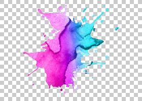 粉红色抽象背景,洋红色,紫罗兰,花瓣,水彩画,粉红色,油漆,紫色,抽