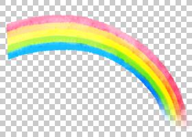 彩虹颜色背景,圆,线路,粉红色,天空,动画,卡通,颜色,绘图,水彩画,