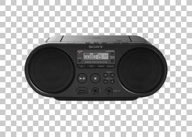 索尼Boombox光盘CD播放器收音机SB的PNG剪贴画电子产品,fM广播,媒