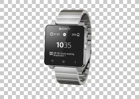 索尼SmartWatch 2,手表PNG剪贴画电子产品,小工具,手表配件,矩形,
