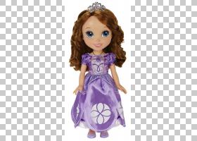 索非亚第一个美女娃娃玩具艾尔莎,娃娃PNG剪贴画杂项,紫色,儿童,