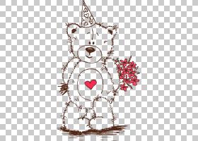 情人节绘画爱玩具T恤,插图PNG剪贴画爱,哺乳动物,儿童,食肉动物,