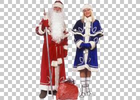 圣诞老人Ded Moroz Snegurochka新年树,圣诞老人PNG clipart杂项,图片