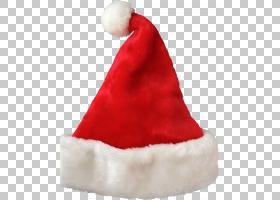 圣诞老人圣诞节装饰帽子帽子PNG剪贴画帽子,圣诞节装饰,新年,虚构