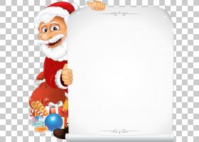 圣诞老人纸圣诞节圣诞老人雪橇PNG剪贴画假期,摄影,海报,虚构人物