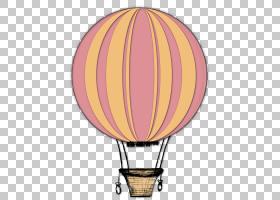 手绘热气球复古复古徽章PNG剪贴画水彩画,摄影,气球,桌面壁纸,粉
