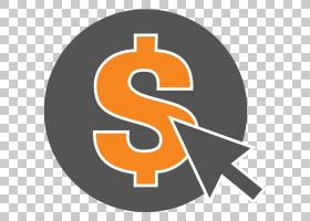 数字营销按点击付费广告业务,单击PNG剪贴画公司,文本,服务,付款,