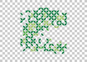 绿叶徽标,矩形,线路,绿色,点,面积,对称性,叶,植物群,数字艺术,徽