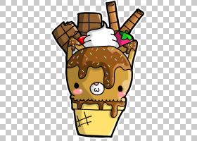 冰淇淋锥形背景,食物,冰淇淋店,社论漫画,洒水,绘图,卡通,巧克力