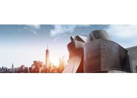 商务城市背景图片 (7)