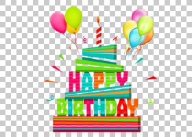 生日快乐蛋糕,党的供应,面积,线路,气球,文本,工艺,礼物,蛋糕,问