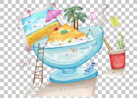 冰淇淋背景,餐具,菜肴,食物,漫画,绘画,杯子,动画,卡通,冰淇淋,
