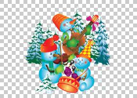 圣诞节和新年背景,圣诞装饰,树,圣诞装饰品,雪人,万岁Itu2019s一