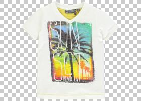 T恤T恤,顶部,黄色,服装,T恤,套筒,T恤,