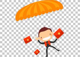 圣诞节和新年背景,雨伞,线路,黄色,降落伞,橙色,元旦,圣诞节,圣诞