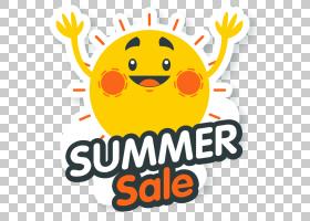 夏季促销,幸福,线路,橙色,黄色,笑脸,文本,食物,面积,素食,表情,