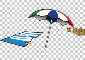 夏日卡通,线路,雨伞,面积,角度,动画,网站,夏天,夏季剪贴画,