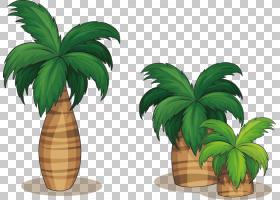 树干绘图,草,棕榈树,花盆,槟榔,室内植物,植物,剪影,树,线条艺术,