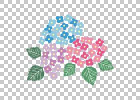 夏花背景,树,叶,植物,绣球花,季节,蓝色,红色,颜色,夏天,花,东亚