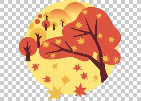 夏花背景,橙色,花瓣,黄色,树,叶,花,夏天,春天,秋季,冬天,季节,