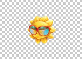 夏花背景,橙色,黄色,身体首饰,花瓣,花,海滩,笑脸,夏天,