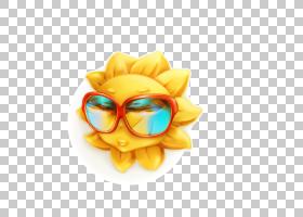 夏花背景,眼镜,黄色,眼镜,花瓣,太阳镜,花,海滩,夏天,