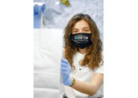 预防病毒带口罩