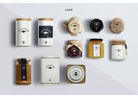 各类罐子LOGO展示样机