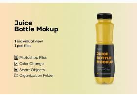 创意汽水塑料瓶外包装LOGO展示样机