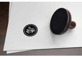 印制主题LOGO展示样机