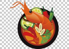 海鲜背景,南瓜,橙色,蔬菜,水果,菜肴,对虾,动画,卡通,食物,海鲜,