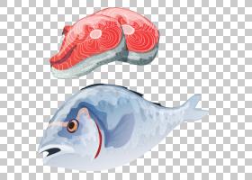 钓鱼卡通,食物,绘图,钓鱼,鲑鱼,对虾,海鲜,虾,鱼,螃蟹,寿司,龙虾,
