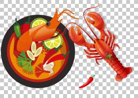 食品卡通,橙色,餐厅,大米,卡通,菜肴,沙拉,平面设计,食物,青木瓜