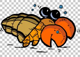 虾动画,喙,文本,虾,漫画,寄居蟹,动画,卡通,螃蟹,