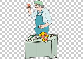 画卡通,厨房用具,专业,烹饪,职业,食物,菜肴,街市摊档,绘画,推销