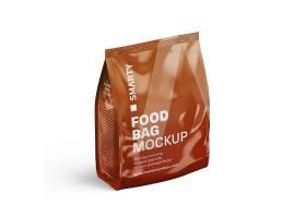 食物包装袋塑料袋LOGO展示样机