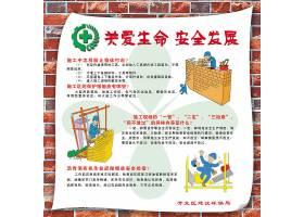 建筑施工安全展板