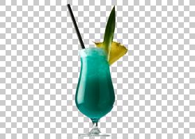 菠萝动画,鸡尾酒装饰,IBA官方鸡尾酒,蓝色夏威夷,迈泰,蓝泻湖,蜡