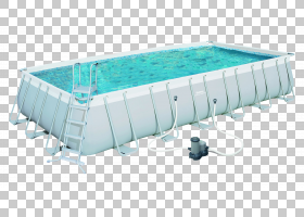 木架框架,角度,塑料,水,充气,矩形,木材,梯子,墙,游泳,甲板,花园,