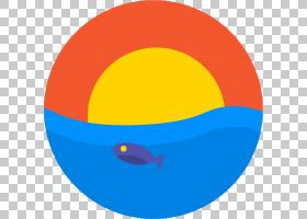 鱼图标,线路,圆,橙色,球体,黄色,角度,预览,软件,图标设计,像素,