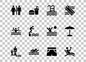 游泳卡通,角度,编号,徽标,技术,面积,手,线路,剪影,黑白,黑色,白