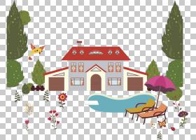 背景图案,回家,设计,树,模式,房子,动画,绘图,剪影,游泳,卡通,游