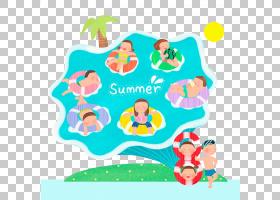 游泳卡通,线路,婴儿玩具,材质,面积,娱乐,播放,卡通,蓝色,游泳,游