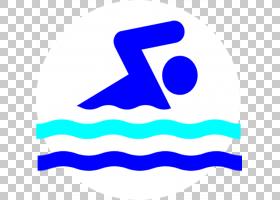 酒店卡通,线路,徽标,符号,文本,面积,酒店,婴儿游泳,游泳课,游泳