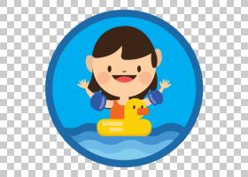 学童,微笑,播放,动画,卡通,游泳课,孩子,游泳池,游泳,南天鹅游泳
